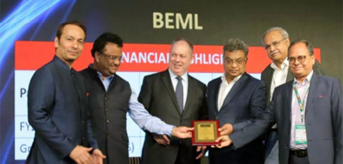 BEML receives top mining equipment seller award 8