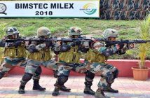 First ever military exercise of BIMSTEC nations conducted in India 1