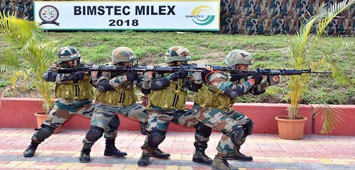 First ever military exercise of BIMSTEC nations conducted in India 15
