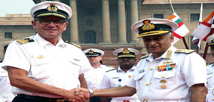 German Navy Chief holds discussion with Indian military leadership 16