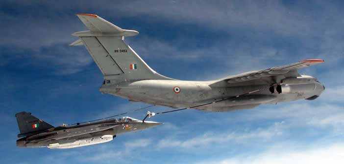 Maiden midair refueling of Tejas aircraft conducted successfully 14
