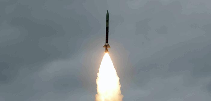 India test fires surface-to-surface ballistic missile Prahar 9