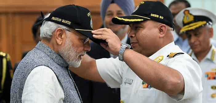INS Arihant our shield against nuclear blackmail: PM Modi 9