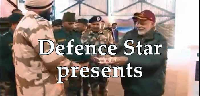 Prime Minister Modi celebrates Deepawali with Army Jawans 7