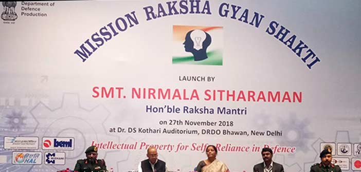 Sitharaman sets target for Raksha Gyan Shakti: File thousand IPR applications 5