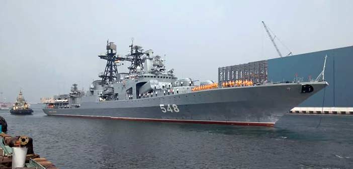 Russian warships arrive in India for naval exercise Indra Navy 2018 4