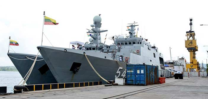 Indian Navy begins joint military exercise with Myanmar Navy 2