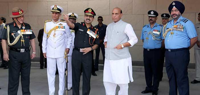 Rajnath Singh Defence