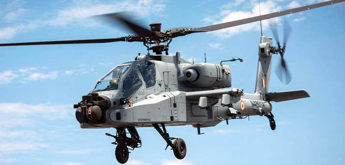 Apache AH64-E Attack Helicopter