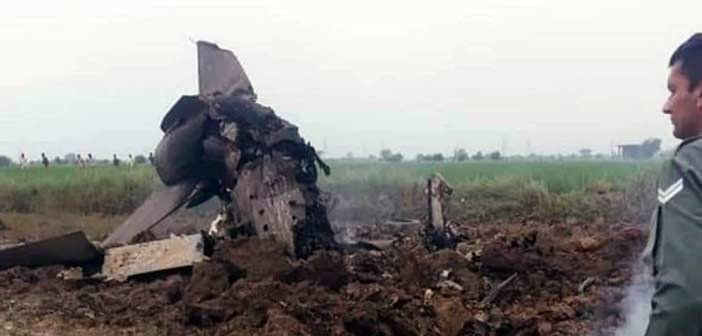 IAF Indian Air Force Mig 21 Crash