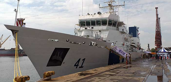 Indian Coast Guard Ship Varaha