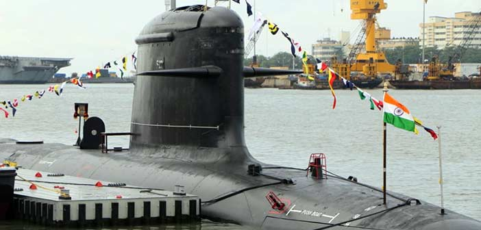 Indian Navy INS Khanderi News