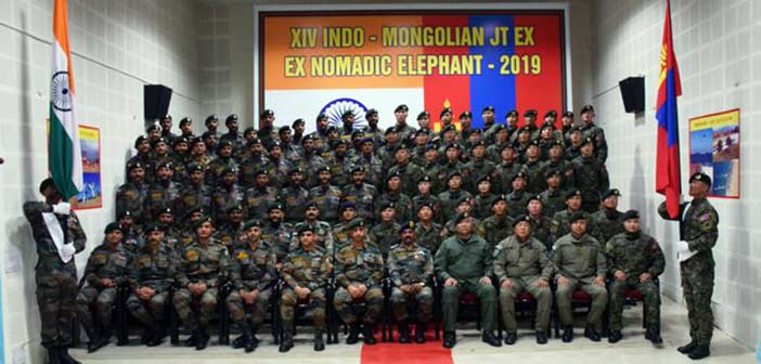 Indian Army Nomadic Elephant Exercise