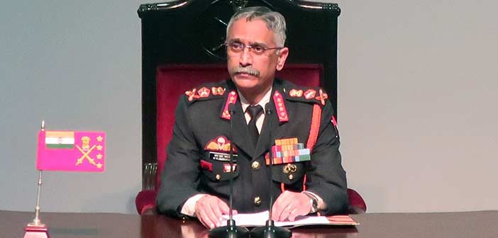 Army Chief MM Narawane