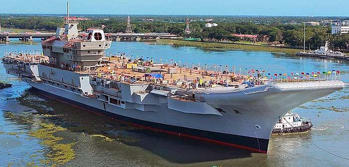 INS Vikrant Aircraft Carrier