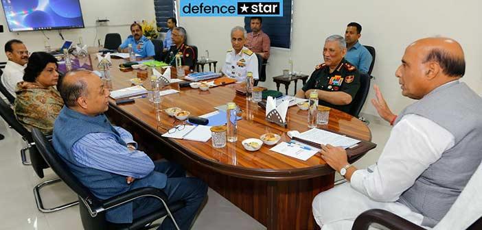 Corona COVID-19 India Defence