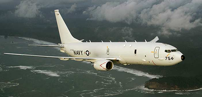 Boeing P8A Poseidon Maritime Navy Aircraft