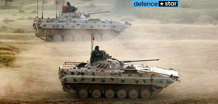 Indian Army Sarath BMP-2 Combat Vehicle