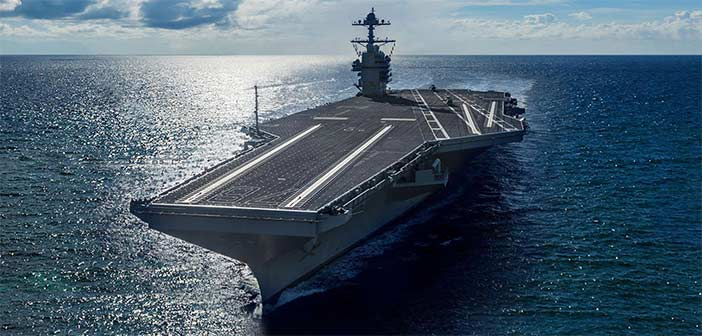 General Atomics Ford Class Carrier EMALS AAG