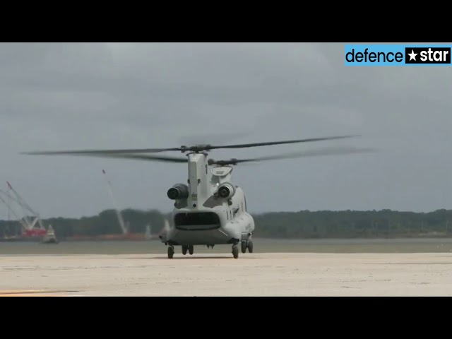 Indian Air Force inducts Boeing Chinook multi-mission helicopter 2
