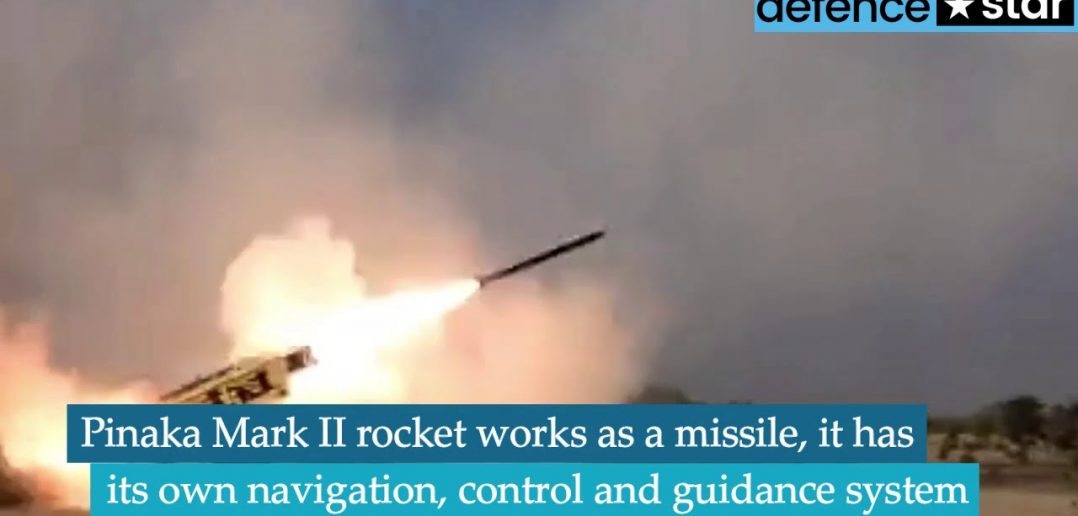 Watch: DRDO successfully tests upgraded version of Pinaka Missile System 1